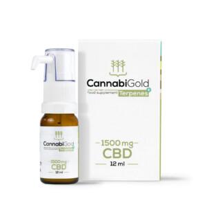 Olej CBD Terpenes+ 1500 mg
