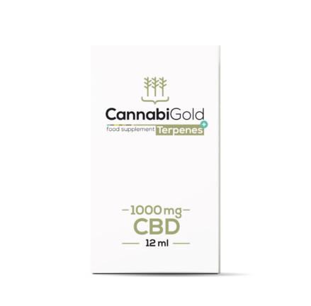 Olej CBD Terpenes+ 1000 mg