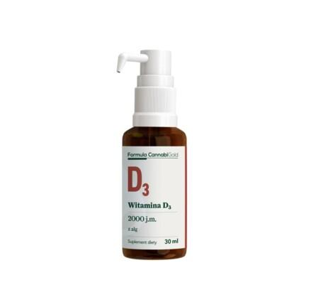 FORMULA WITAMINA D3 algi bottle