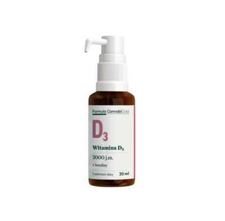 FORMULA WITAMINA D3 lanolina bottle