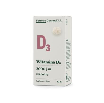 FORMULA WITAMINA D3 lanolina box